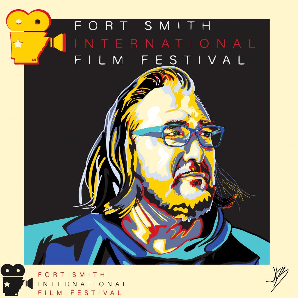 Film Festival Poster by Jonathan Burchett