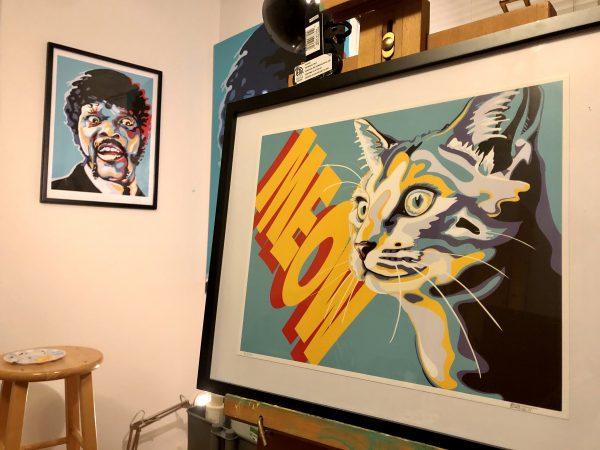 Meow Print by JKBurchett